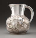 Silver & Vertu, A Gorham Mfg. Co. Silver Pitcher with Aquatic Motifs, Providence, Rhode Island, 1884. Marks: (lion-anchor-G), STERLING, 11...