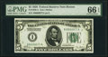 Small Size:Federal Reserve Notes, Fr. 1950-A $5 1928 Federal Reserve Note. PMG Gem Uncirculated 66 EPQ.. ...