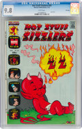 Bronze Age (1970-1979):Cartoon Character, Hot Stuff Sizzlers #55 File Copy (Harvey, 1973) CGC NM/MT 9.8 White pages....