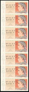 Czechoslovakia Group of 19 Examples Extremely Fine-Crisp Uncirculated. ... (Total: 19 notes)