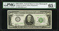 Small Size:Federal Reserve Notes, Fr. 2202-I $500 1934A Federal Reserve Note. PMG Gem Uncirculated 65 EPQ.. ...