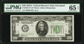 Small Size:Federal Reserve Notes, Fr. 2055-D* $20 1934A Federal Reserve Note. PMG Gem Uncirculated 65 EPQ.. ...