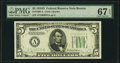 Small Size:Federal Reserve Notes, Fr. 1960-A $5 1934D Federal Reserve Note. PMG Superb Gem Unc 67 EPQ.. ...