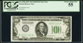 Fr. 2152-H* $100 1934 Federal Reserve Note. PCGS Choice About New 55