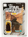 Memorabilia:Science Fiction, Star Wars - Jawa 12 Back-C Square Bubble/Inner Tray Action Figure (Kenner, 1978) AFA 85 NM+....