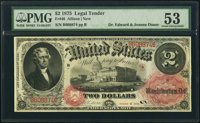 Fr. 46 $2 1875 Legal Tender PMG About Uncirculated 53
