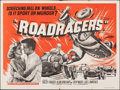 """Movie Posters:Action, Roadracers & Other Lot (Anglo Amalgamted, 1960). Folded, Fine/Very Fine. British Quad (30"""" X 40"""") & French Moyenne (22.75"""" X... (Total: 2 Items)"""