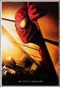 """Movie Posters:Action, Spider-Man (Columbia, 2002). Rolled, Very Fine+. Printer's Proof One Sheet (28"""" X 41"""") Twin Towers Style, SS. Action.. ..."""