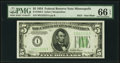 Small Size:Federal Reserve Notes, Fr. 1956-I $5 1934 Federal Reserve Note. PMG Gem Uncirculated 66 EPQ.. ...