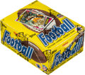 Football Cards:Unopened Packs/Display Boxes, 1984 Topps Football Wax Box With 36 Unopened Packs - Marin...