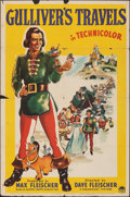 "Movie Posters:Animation, Gulliver's Travels (Paramount, 1939). Folded, Fine. One Sheet (27"" X 41""). Animation.. ..."