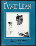 """Movie Posters:Miscellaneous, David Lean: Life Achievement Award (American Film Institute, 1990). Very Fine-. Autographed Event Program (84 Pages, 8.5"""" X ..."""