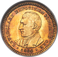 1904 G$1 Lewis and Clark Gold Dollar MS66 NGC....(PCGS# 7447)
