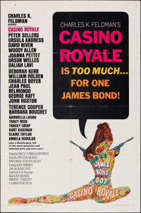 "Casino Royale (Columbia, 1967). Folded, Fine+. One Sheet (27"" X 41""). Robert McGinnis Artwork. James Bond"