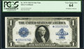Large Size:Silver Certificates, Fr. 237* $1 1923 Silver Certificate PCGS Very Choice New 64.. ...