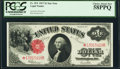 Large Size:Legal Tender Notes, Fr. 39* $1 1917 Legal Tender PCGS Choice About New 58PPQ.. ...