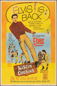 "Kissin' Cousins (MGM, 1964). Rolled, Fine/Very Fine. Poster (40"" X 60.25""). Elvis Presley"