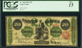 Large Size:Legal Tender Notes, Fr. 124b $20 1862 Legal Tender PCGS Fine 15.. ...