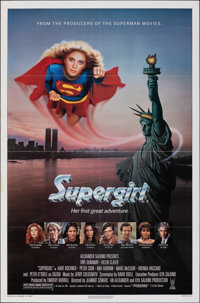 "Supergirl & Other Lot (Tri-Star, 1984). Folded, Fine/Very Fine. One Sheets (2) (27"" X 41""). Adventure..."