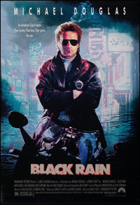 """Black Rain & Other Lot (Paramount, 1989). Rolled, Very Fine-. One Sheets (3) (26.75"""" X 39.75"""" & 27&quo..."""