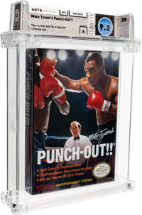 Mike Tyson's Punch-Out!! [Oval SOQ TM, Later Production] Wata 9.2 A Sealed 1987 USA