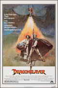 """Movie Posters:Fantasy, Dragonslayer & Other Lot (Paramount, 1981). Rolled, Very Fine. One Sheets (2) (27"""" X 41""""). Jeff Jones Artwork. Fantasy.. ... (Total: 2 Items)"""