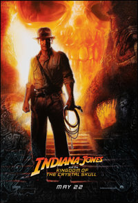 """Indiana Jones and the Kingdom of the Crystal Skull (Paramount, 2008). Rolled, Very Fine. One Sheet (27"""" X 40"""")..."""