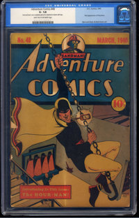 Adventure Comics #48 (DC, 1940) CGC GD- 1.8 Light tan to off-white pages