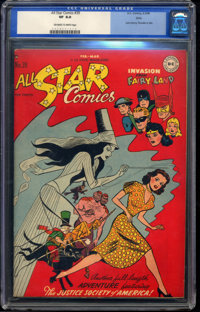 All Star Comics #39 - Ohio (DC, 1948) CGC VF 8.0 Off-white to white pages
