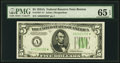 Small Size:Federal Reserve Notes, Fr. 1957-A* $5 1934A Federal Reserve Note. PMG Gem Uncirculated 65 EPQ.. ...