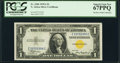 Fr. 2306 $1 1935A North Africa Silver Certificate. PCGS Superb Gem New 67PPQ