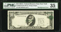 Error Notes:Shifted Third Printing, Shifted Third Printing Error Fr. 2026-B $10 1981A Federal Reserve Note. PMG Choice Very Fine 35.. ...