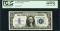 Small Size:Silver Certificates, Fr. 1606* $1 1934 Silver Certificate. PCGS Very Choice New 64PPQ.. ...