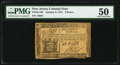 Colonial Notes:New Jersey, New Jersey January 9, 1781 6d PMG About Uncirculated 50.. ...