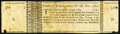 County of York (MA) Lottery Ticket Nov. 1760 Very Fine