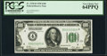 Small Size:Federal Reserve Notes, Fr. 2150-D $100 1928 Federal Reserve Note. PCGS Very Choice New 64PPQ.. ...