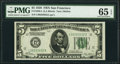 Small Size:Federal Reserve Notes, Fr. 1950-L $5 1928 Federal Reserve Note. PMG Gem Uncirculated 65 EPQ.. ...