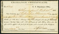 Confederate Notes:Group Lots, Shreveport, LA Interim Depository Receipt $1,840 1864 Tremmel LA-63 Fine.. ...