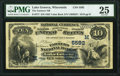 Lake Geneva, WI - $10 1882 Value Back Fr. 577 The Farmers National Bank Ch. # (M)5592 PMG Very Fine 25