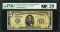 Fr. 1950-I $5 1928 Federal Reserve Note. PMG Very Fine 20