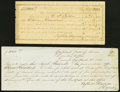 Confederate Notes:Group Lots, Summit, MS Interim Depository Receipts Various Amounts 1864 Tremmel MS-67; MS-71 Fine, CC.. ... (Total: 2 items)
