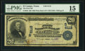 El Campo, TX - $20 1902 Plain Back Fr. 650 The First National Bank Ch. # (S)6112 PMG Choice Fine 15