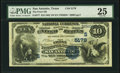 San Antonio, TX - $10 1882 Value Back Fr. 577 The Frost National Bank Ch. # (S)5179 PMG Very Fine 25.</
