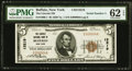 Buffalo, NY - $5 1929 Ty. 1 The Lincoln National Bank Ch. # 13219 PMG Uncirculated 62 EPQ