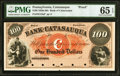 Obsoletes By State:Pennsylvania, Catasauqua, PA- Bank of Catasauqua $100 18__ as G18a Proof PMG Gem Uncirculated 65 EPQ.. ...