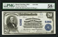 Mount Sterling, OH - $20 1902 Plain Back Fr. 659 The First-Citizens National Bank Ch. # 5382 PMG Choice About Unc 58 E...