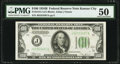 Small Size:Federal Reserve Notes, Fr. 2154-J $100 1934B Federal Reserve Note. PMG About Uncirculated 50.. ...