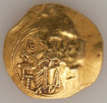 Ancients:Byzantine, Ancients: John II Comnenus (AD 1118-1143). AV hyperpyron (27mm, 4.57 gm, 6h). Fine, wavy flan....