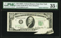 Gutter Fold Error Fr. 2011-B $10 1950A Federal Reserve Note. PMG Choice Very Fine 35 EPQ