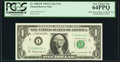 Fr. 1900-I* $1 1963 Mule Federal Reserve Note. PCGS Very Choice New 64PPQ